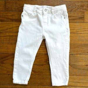 Zara Baby   White Skinny Jeans